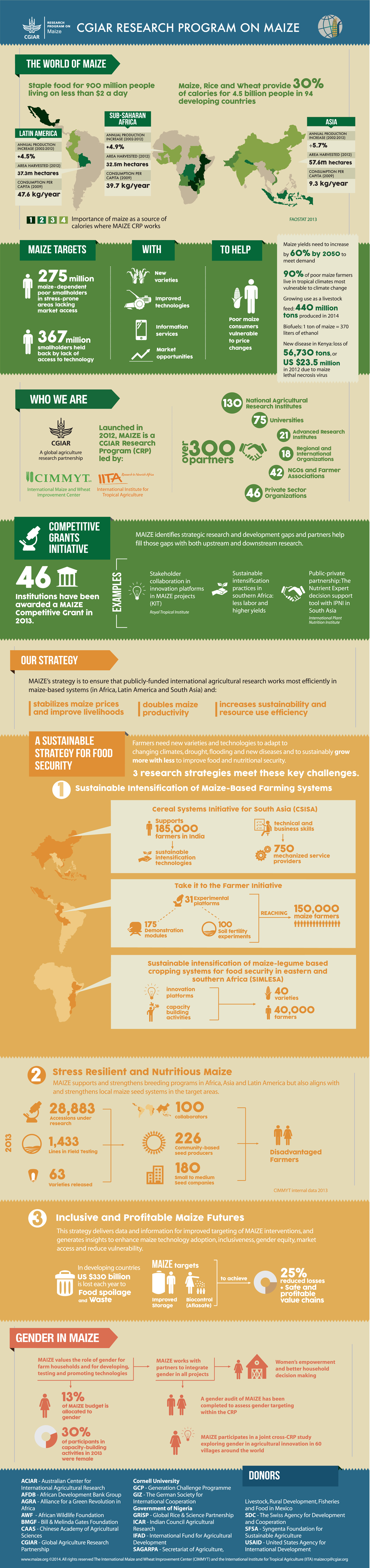 MAIZE CRP Infographic 2014